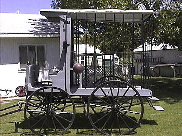 Horse-Drawn Jail Wagon